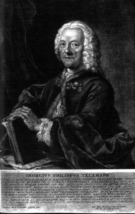Portrait Georg Philipp Telemann